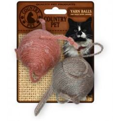 Country Pet Cat Yarn Ball Set