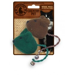 Country Pet Cat Wool Mouse